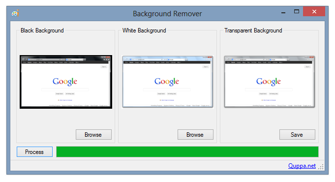 Screenshot of Background Remover